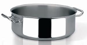 Sitram Profiserie 10.6-Quart Commercial Stainless Steel Rondeau Casserole