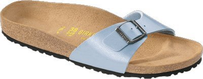 "Cheap Birkenstock Sandals ""Madrid"" from Birko-Flor in Graceful Babyblue 42.0 EU N (B0098V99OA)"