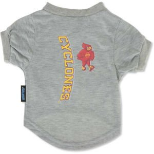 Ncaa Iowa State Cyclones Pet T-Shirt, Team Color, Small front-1054494