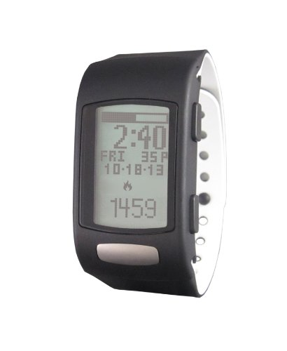 LifeTrak Core C200 24-hour Fitness Tracker, Black/White