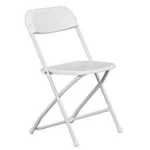 Hercules Premium Heavy Duty Folding Chair White Home Kitchen