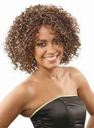 Synthetic hair Sassy wig by Janet Collection color FR1B/27