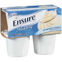 Ensure Balanced Nutrition Pudding, Old, Fashioned Vanilla, 4 pk