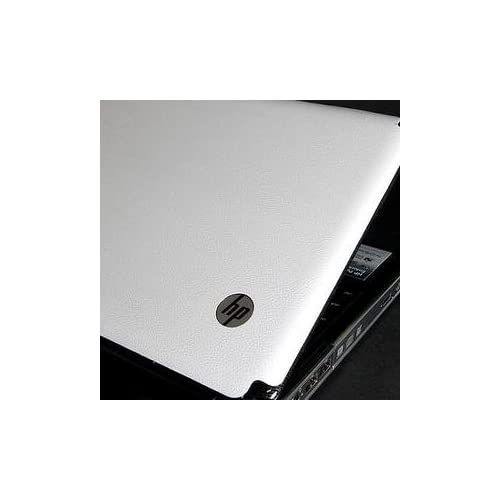 HP Pavilion DV3 Laptop Cover Skin [White Leather]