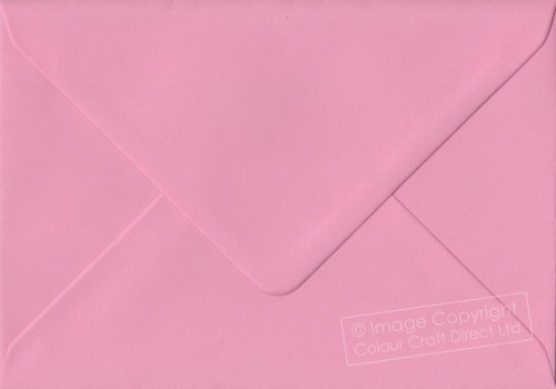 Premier Envelopes Pastel Pink C6 - 114 Mm X 162 Mm 100Gsm Gummed Envelope (Pack Of 100)