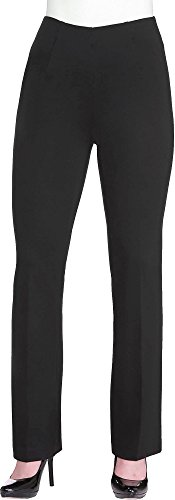 Alia Petite Straight Leg Pull On Pants Large Petite Black (Alia Clothing compare prices)