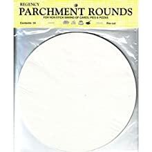 Harold Import Regency Parchment Paper Circles 10-Inch Pack Of 24