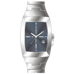 Ted Lapidus 5102002 - Reloj de caballero de cuarzo, correa de acero inoxidable color plata
