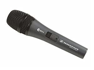 Sennheiser Three Each 815-S Microphones, Clips and Carrying Pouches
