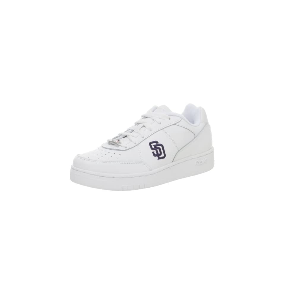 164cde0d1b4 Reebok Mens Padres MLB Clubhouse Exclusive Sneaker on PopScreen