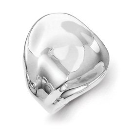 Genuine IceCarats Designer Jewelry Gift Sterling Silver Solid Ring Size 6.00