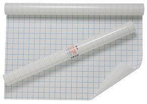 50cmx3m Quality Roll Of Clear Sticky Back Plastic Book