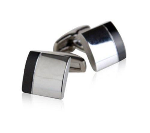 Jewelry Mountain Masculine Titanium Cufflinks