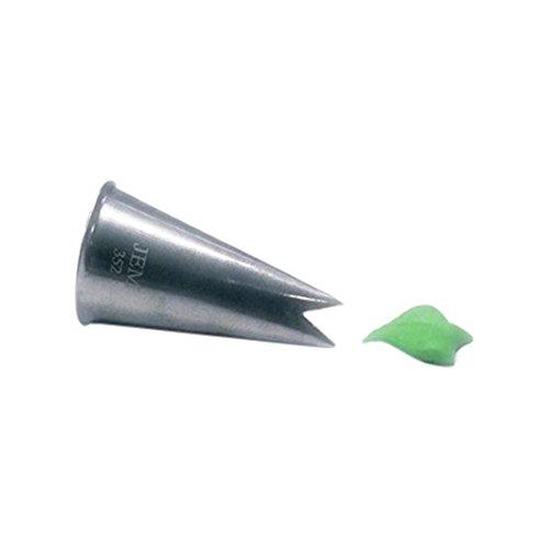 JEM Nummer 352Leaf Nozzle Tip, silber