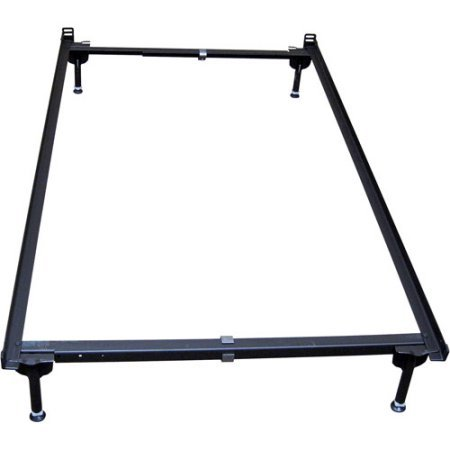 Convenient Full-Size Metal Bed Frame, Convertible to Crib, Black (Graco Bed Frame compare prices)