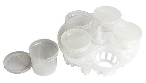 Instant Pot Pressure Sterilising Rack and Yogurt Set, complete with 5 reusable yogurt cups. by Instant Pot