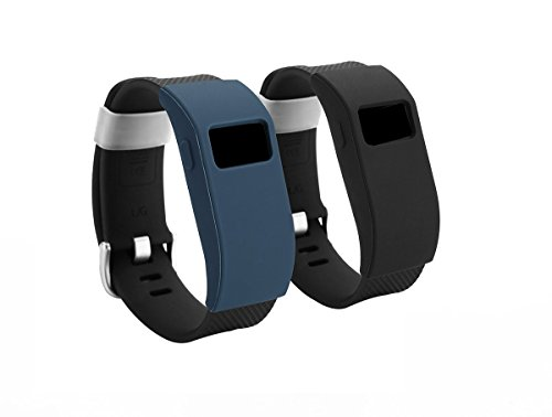 BeneStellar - Fitbit Charge HR band cover cases (2-Pack, slim)