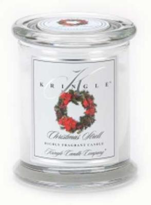 Kringle Candle Company Medium Classic Apothecary Jar - Christmas Stroll