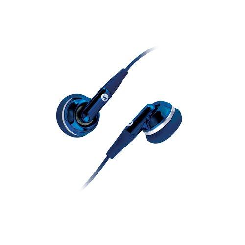 Motorola Eh25 Blue Stereo Ear Bud Headset - 89249N