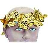 Roman Gold Laurel Wreath Headpiece
