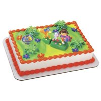 Cake Decorating Kits: Dora the Explorer Cake Kit
