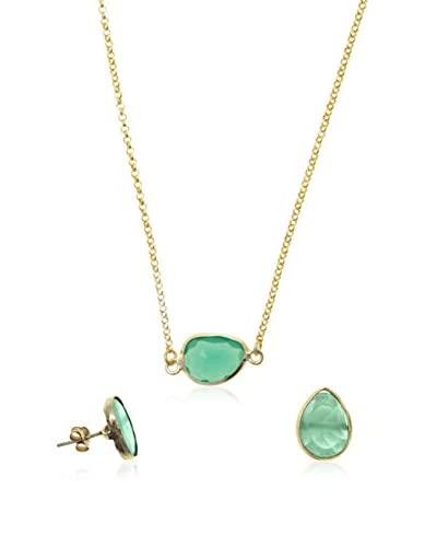 Córdoba Jewels Set collana e orecchini  argento 925 bagnato oro