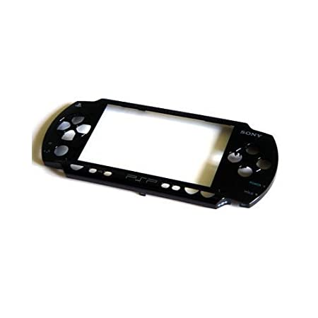 Black PSP FAT 1000 Replacement Faceplate Sony