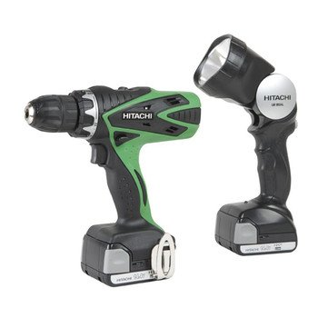 Hitachi DS14DSFL 14.4-Volts Lithium-Ion 1.5 Amp Cordless Drill Driver