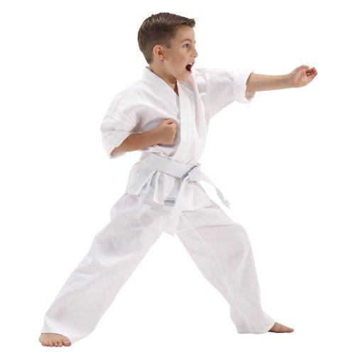 Macho 5oz Ultra Light Weight Karate Gi / Uniform - Size 0 (Kids Karate Uniform compare prices)