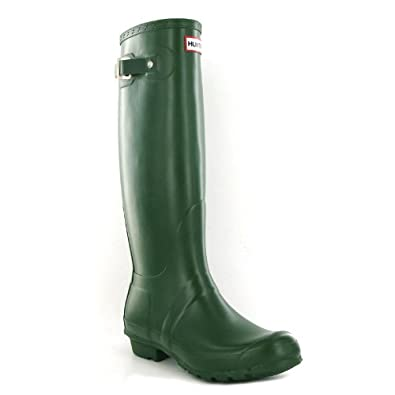 Hunter Original Green Womens Boots Size 5 US