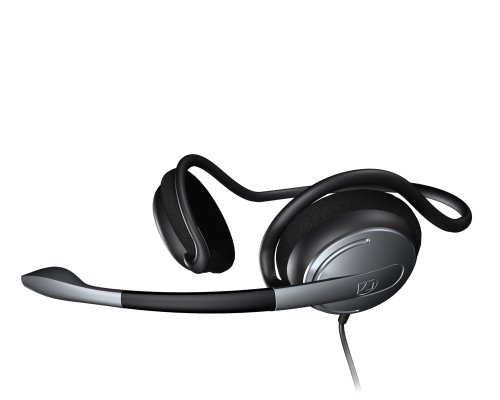 Sennheiser Pc141 On-Ear Headset With Noise-Cancelling Microphone