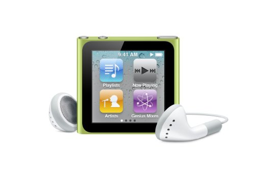 Apple iPod nano 8 GB Green (6th Generation) NEWEST MODEL