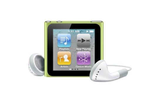 Apple iPod nano 8 GB Green (6th Generation) NEWEST MODEL