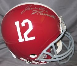 Joe Namath Autographed University of Alabama Proline Helmet by Radtke+Sports