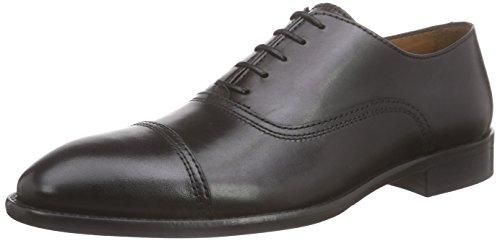 Lottusse L6553-00500-01 - Scarpe Oxford Uomo, colore nero (lond.old negro), taglia 42 (UK 8)
