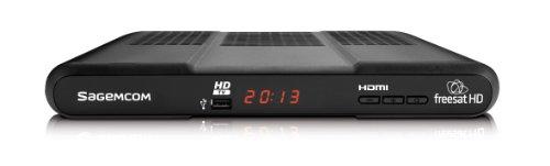 Sagemcom DSI86 HD Satellite TV Digital Receiver Box with freesat HD