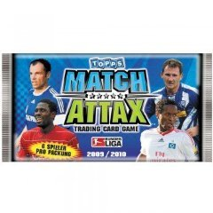 Topps Match Attax Bundesliga 2009/10 Sammelkarten Booster Pack mit 6 Karten (deutsch)