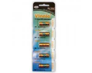 Vinnic 5pk L1028 Alkaline 12V Batteries GP23A, MN21, A23, LRVO8