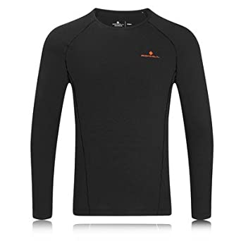 Ronhill Base Thermal 100 Long Sleeve Running Top - X Large