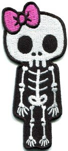 Amazon.com: Skull Skeleton Goth Punk Emo Horror Appliques Hat Cap Polo
