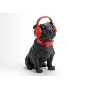 chien bulldog avec casque rouge cuisine maison. Black Bedroom Furniture Sets. Home Design Ideas