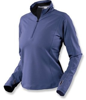 Buy Moving Comfort No Chill Half-Zip Top - Ladies Extended Sizes by Moving Comfort