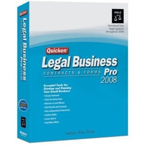 Quicken Legal Business Pro 2008 [OLD VERSION]