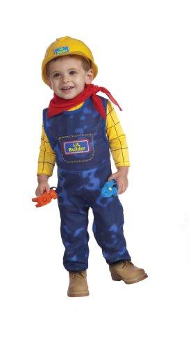Forum Novelties Lil Builder Complete Costume, Toddler Size