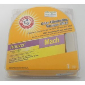 Hoover Hepa Filter Mach Fits Hoover Mach 5, Mach 6, Windtunnel Cyclonic And Mach Cyclonic Bagless Uprights front-589280
