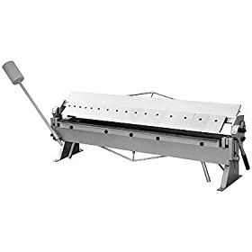 48 INCH SHEET METAL PAN & BOX BRAKE (16 GAUGE)