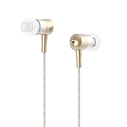 Premium Sound Quality Earbud With Mic For Your Iphone / Samsung / Htc / Sony (New I-1(Gold))