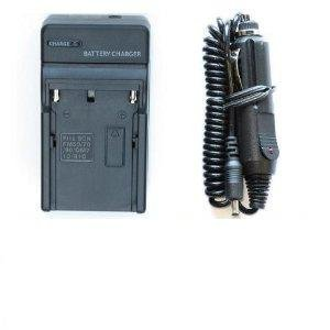 AC Wall Charger + In-Car Charger Adapter For Kodak KLIC-7001 / KLIC-7004 Batteries