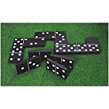 Giant Garden Black and White Dominoes