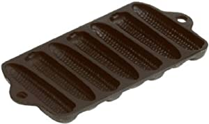 Lodge Mfg L27C3 Cornstick Pan, Non-Stick, Seasoned Cast Iron